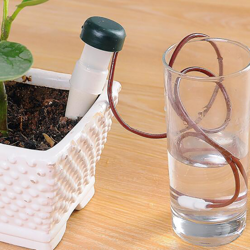1Pcs Watering Drip Device Automatic Watering Tools Gardening Water Gardening Flower Pot Plant Potted Watering Irrigation System-in Water Cans from Home & Garden