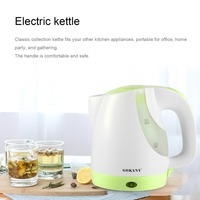 SOKANY 0 9L Portable Electric Kettle Water Kettle With Mesh Filter Interlocking Lid Support Automatic Switch