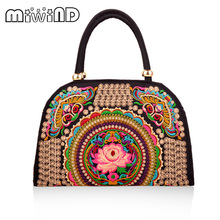 Luxury Spain New Fashion Bolsos Desigues Embroidery Women Messenger Bags Vintage Shoulder Crossbody Bags Sac a Main Travel Bag