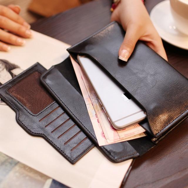 Envelope Clutch Purse Handbag Women Leather Handbags Genuine Leather Bag Ladies Hand Bags Card Holder Mini Woman Bag Handbag 3