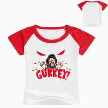 Z&Y 2-16Years Tiny Cottons 2018 Gurkey Funny Tshirt Gift Toddler Girl Shirts Boy T for Children Birthday Hip Hop