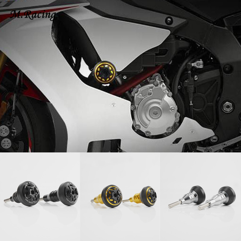 Falling Protectors Motorcycle CNC Aluminum Frame Slider Anti Crash Caps Engine Protection For R1 R1M R1S MT-10