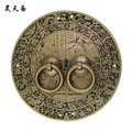 [Haotian vegetarian] bronze Chinese antique copper door handle cabinet handle classical copper Gods hi-life models