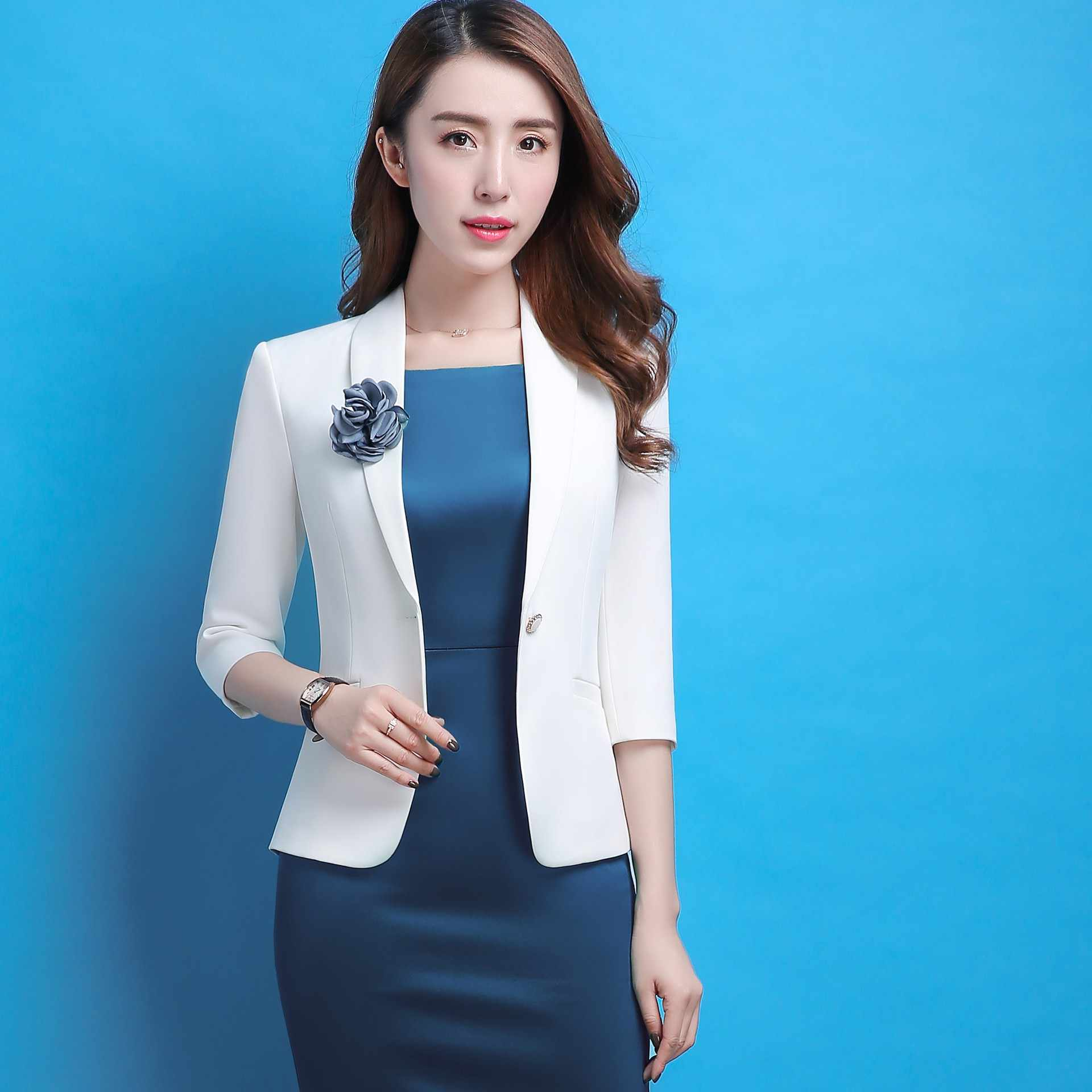abe971479c0 Formal Professional Business Work Wear Blazers Suits With Jackets Coat And Dress  Slim Fashion Female Office