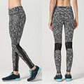 S-3XL mesh legging sweatpants fitness print Legging women female workout transparent legging track pants work out clothes N166