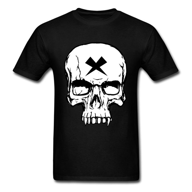 1110781f Vampire Skull Messi Graphic Swag T-Shirts Black Skull Boys T Shirt Popular  Custom Mcgregor Conor Cool Tshirts Small Size S-XXXL