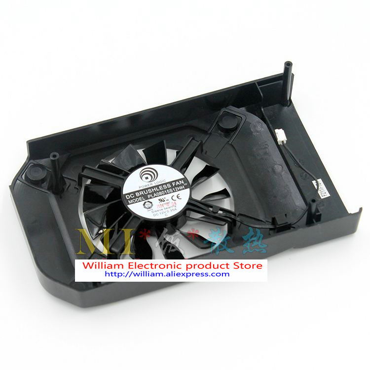 New Original Gainward / liter GTX750Ti Palit graphics card fan Power Logic PLA08015S12HH 2 wire cooling fan pla0815s12hh 12v 0 35a graphics cooling dual fan for gainward geforce gtx680