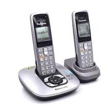Фиксированный Беспроводной телефон с автоответчиком Handfree Голосовая почта подсветкой ЖК-дисплей цифровой беспроводной телефон для домашнего офиса Бизнес