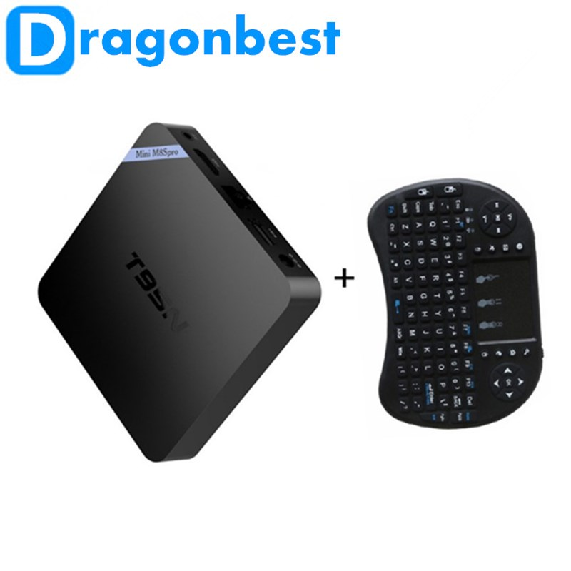 T95N Mini M8S S905X Quad Core 2DDR3+16GB 4K Android 6.0 Smart TV Box Media Playe