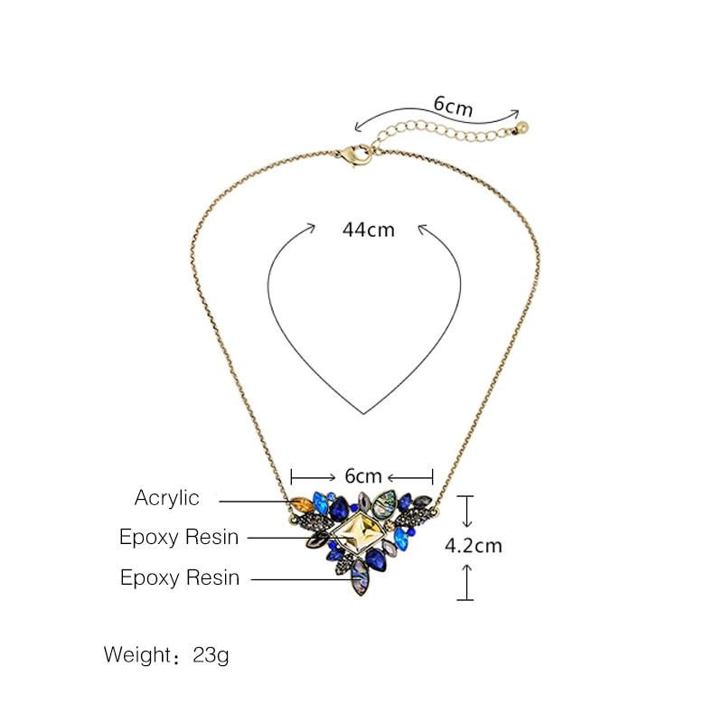 KUS ME prachtige strass hanger ketting 2016 groothandel nieuwste mode - Mode-sieraden - Foto 3