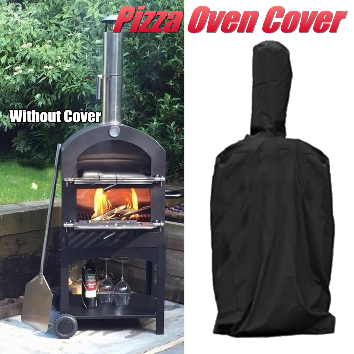 Outdoor Pizza Oven Cover Oxford Cloth