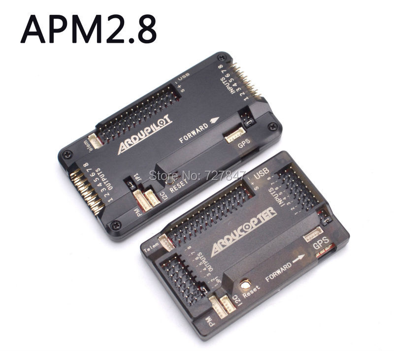 APM2.8 <font><b>APM</b></font> <font><b>2.8</b></font> Flight Controller Board Side pin / straight pin and with / without Compass For F450 S500 S550 RC Multicopter image