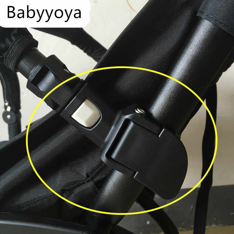 baby stroller armrest bumper horizon install joint adapter accessory suitable for yoya stroller handrail insert into  strollers