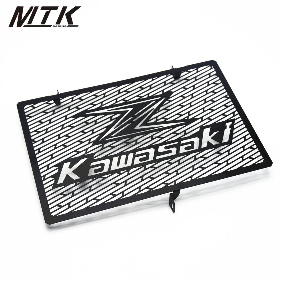 MTKRACING Radiator Grille Grill Cover Protector Guard Motorcycle For KAWASAKI Z1000 Z800 2007-2015 motorcycle radiator protective cover grill guard grille protector for kawasaki z750 z1000 2007 2008 2009 2010 2011 2012 2016
