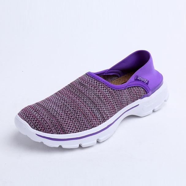 b8eab3377ffe Weaving Cotton Cloth Comfortable Discount Shoes Women Walking Casual Shoes  Women Wide Shoes-in Women s Flats from Shoes on Aliexpress.com