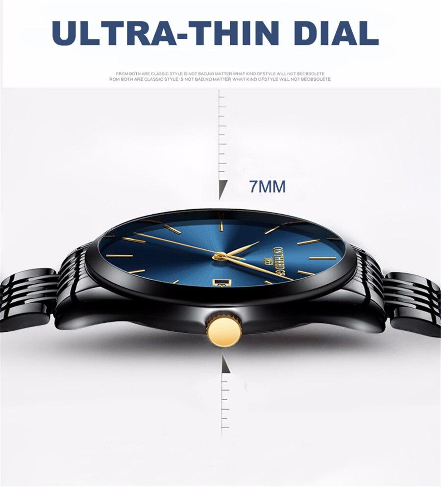 Luksus Brand Vandtæt Analog Sport Armbåndsur Display Dato Mænds - Mænds ure - Foto 3