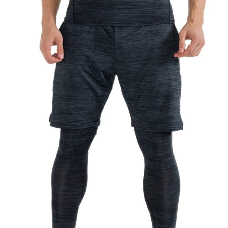 2018 FANNAI Outdoor Sport Men Fitness Sports Short Pants Quick-Dry Sweat Pants Black FN103D