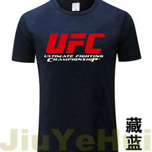 2018 Men s Tshirts Ultimate Fighting Championship Ufc Men T Shirt 2018 100 Cotton TShirt Size