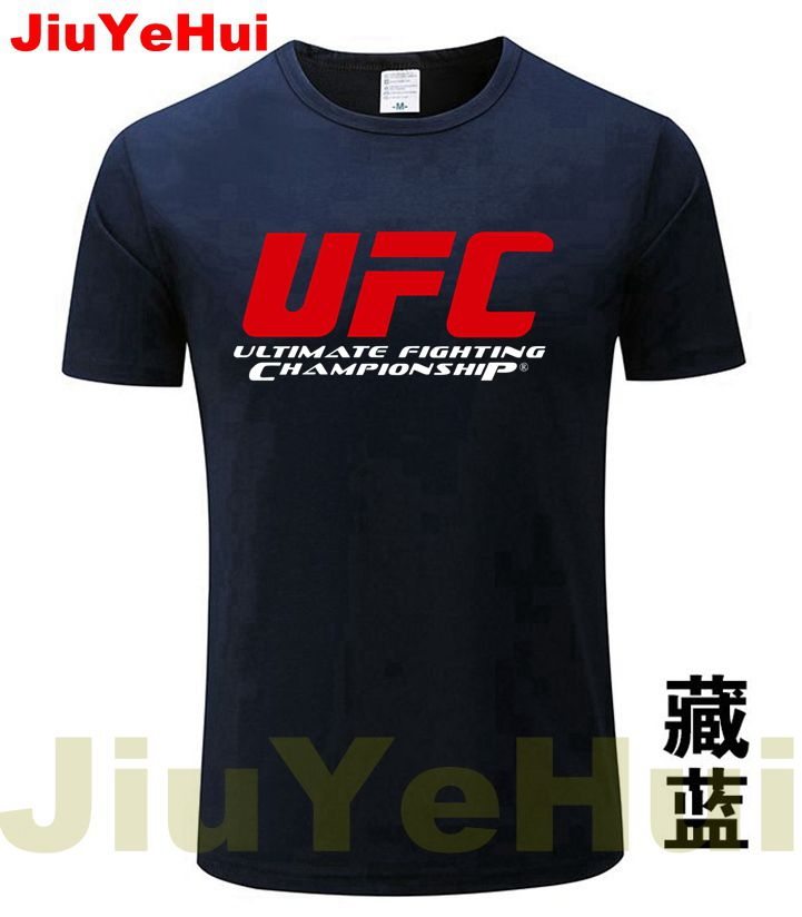 2018 Men's Tshirts Ultimate Fighting Championship Ufc Men   T     Shirt   2018 100%Cotton TShirt Size XS-XXXL Tops Casuals   t  -  Shirt