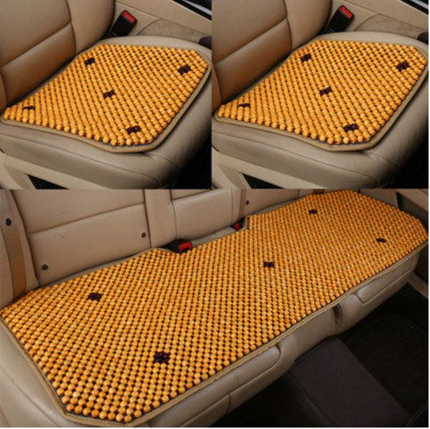 High quality wood bead car cushion three-piece wood bead Environmental protection heat breathable and comfortable infant shining swing car mute flash belting leather music environmental quality children s toy car