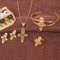 Bangrui Модные Эфиопии/Эритрее/Habesha Крест Ювелирные Наборы Африканских Женщин Традиционный Праздник Стороной