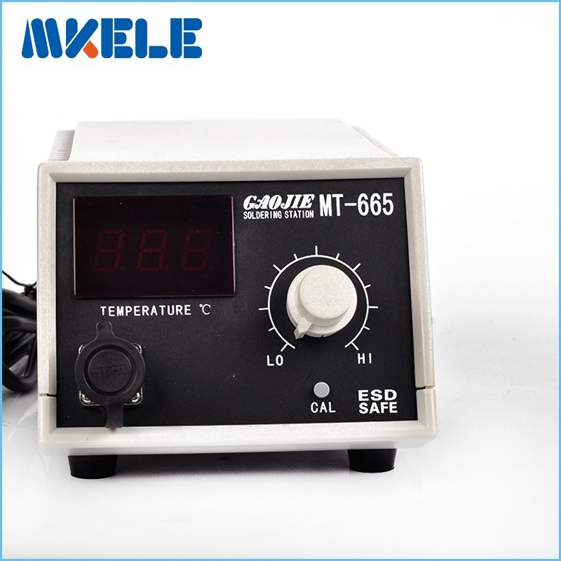 ФОТО High quality 50W 220V Lead-free digital display Soldering Station MT-665 Electric Iron Welding Soldering Rework Repair Tool