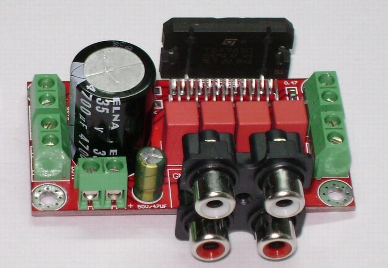 TDA7850 car amplifier board