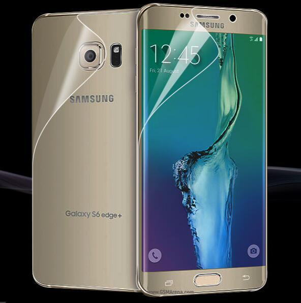 Mjuk skärmskydd framtill bak för Samsung Galaxy S9 S8 Plus S7 kant - Reservdelar och tillbehör för mobiltelefoner - Foto 1