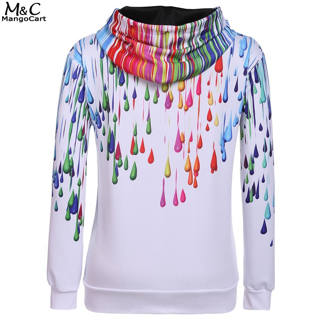 Casual Men Unisex Women Long Sleeve Print Hooded Sweatshirts Pullover Hoodie