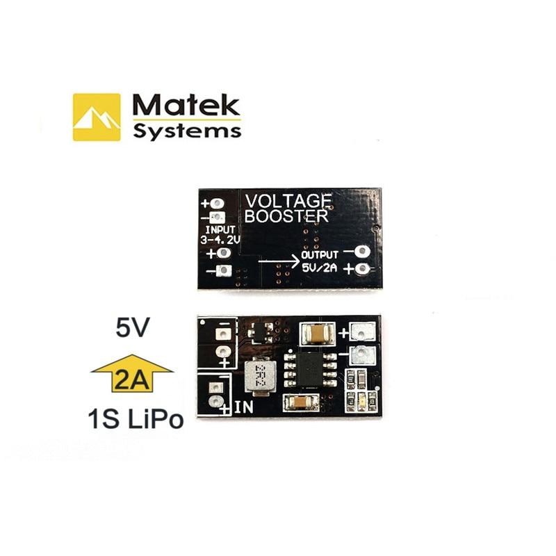 Super Deal Matek VB2A5V DC-DC 1S Up to 5V Voltage Booster Regulation Module Converter For RC Multicopter