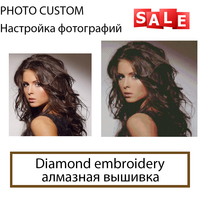 DIY 3D Diamond Painting Photo Custom Square Make Your Own AS A Full Diamond Embroidery To