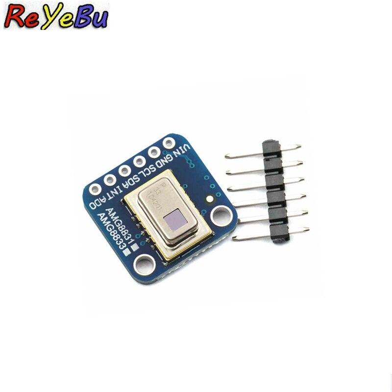 1Pce AMG8833 IR 8*8 Module de capteur de température de matrice d'imageur thermique 8x8 capteur de caméra infrarouge pour Raspberry Pi
