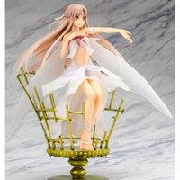 Sword Art Online Asuna Yuuki Anime Figure PVC Action Figure 22cm Kotobukiya birdcage Elf Asuna Ver. Model Collection Toys