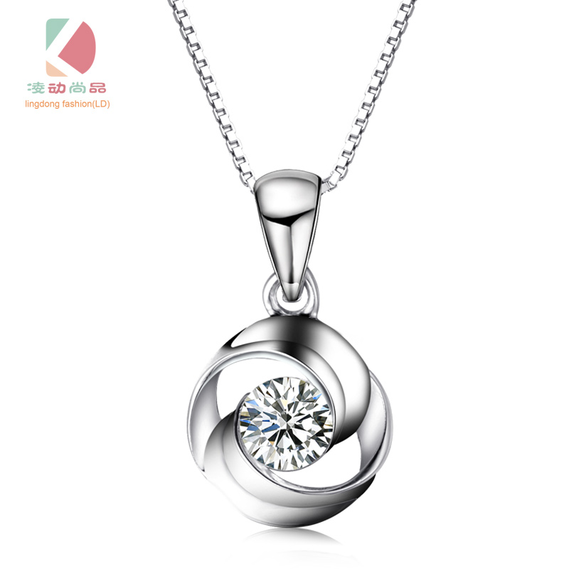 circle of love series promise of love necklace fashion exquisite gift - Fine Jewelry - Photo 1