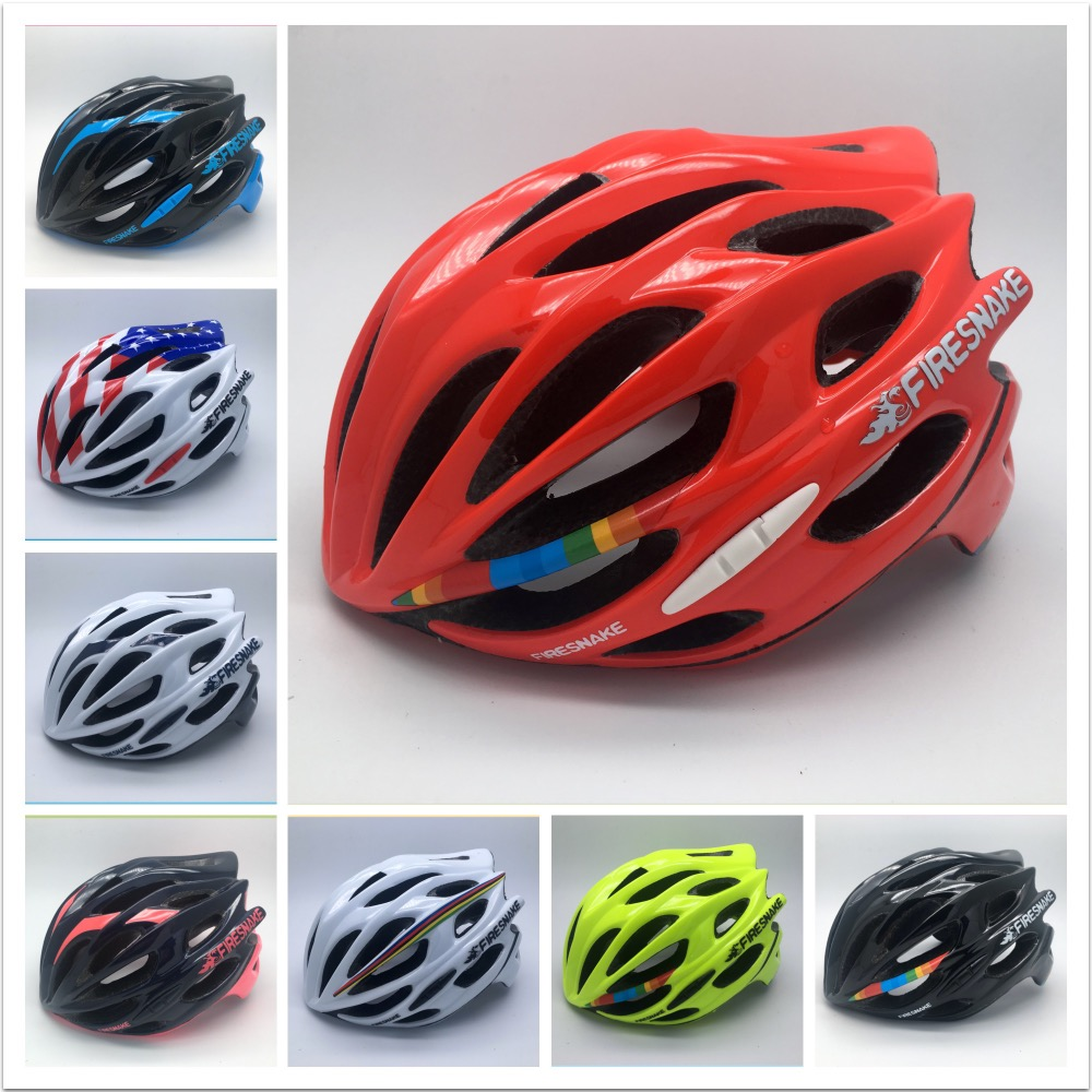 FIRESNAKE Super light 220g Integrally-molded cycling helmet Tour de France mojito bicycle parts size 48-58cm иегуди менухин карита маттила orchestre philharmonique de radio france ютако садо choeur de radio france yutaka sado bernstein kaddish