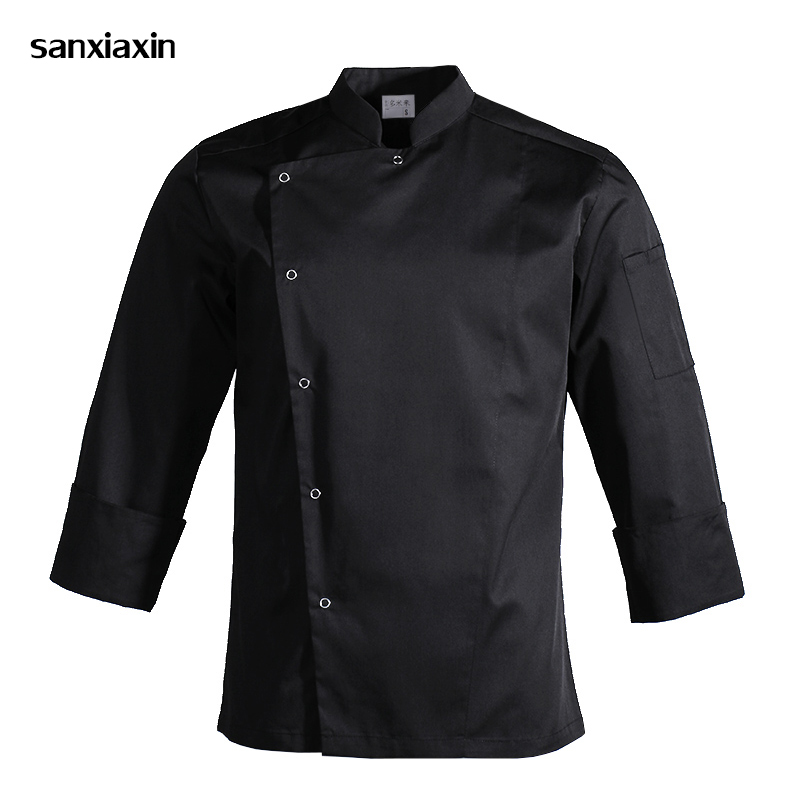 New White Unisex Kitchen Chef Uniforms Short /Long Sleeves Restaurant Uniform Chef Jackets Bakery Hotel Food Service Wholesale