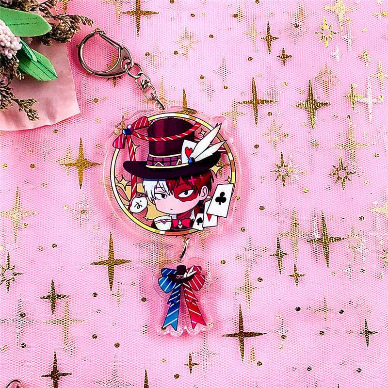Anime Boku Geen Hero Academia Cosplay Sleutelhangers Houder Mode Cartoon Mijn Hero Academia Figuur Sleutelhangers Sleutelhangers Sieraden Gift