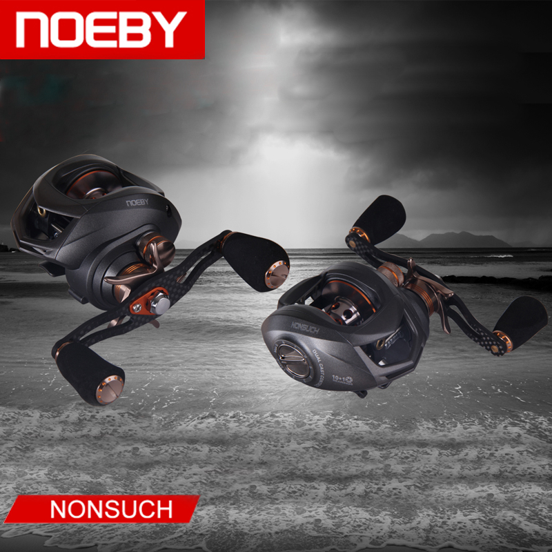 NOEBY Casting Reel 6.3:1 10+1BB Carrete Pesca Moulinet  De Peche Carretilha Baitcasting Fishing Reels hlq mxq12 40 smc type mxq series pneumatic cylinder mxq12 40a 40as 40at 40b air slide table double acting 12mm bore 40mm stroke