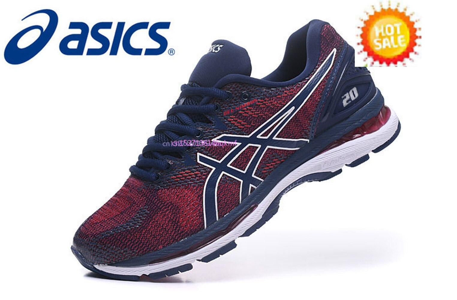 D'origine Asics Gel Nimbus 20 Chaussures de Course Nouveaux Arrivants Asics Chaussures de Sport Pour Hommes Taille Eur 40.5-45