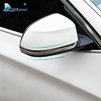 Airspeed Stainless Steel Rear View Mirror Decals Cover Trim For X3 F25 X4 F26 X5 F15