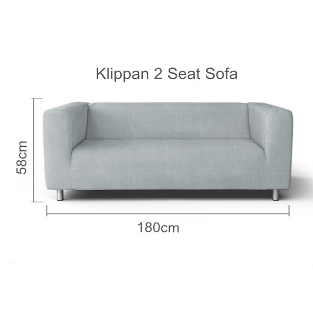 The Klippan 2 Seat Loveseat Sofa Cover Replacement For Seater Sleeper Slipcover