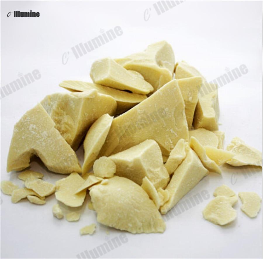 50/100/200/500 grammes Organique Naturel Beurre De Cacao Beurres De Noix De Coco À La Main Savon Ingrediants