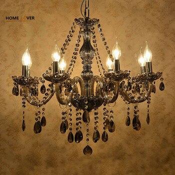 Modern chandeliers indoor home lighting lustre de cristal teto bedroom Living room Kitchen lamp lamparas colgantes de cristal