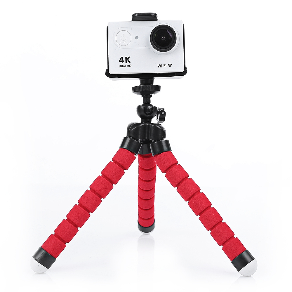 Resultado de imagem para SHOOT Rotation Tripod Desktop Handle Stabilizer Para Câmera De Ação Do Telefone - Preto