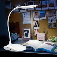 600lux brilho 360 graus dobrável usb recarregável touc h sensor de mesa lâmpada led 3 nível regulável leitura estudo luz desk light table led lamp study light -