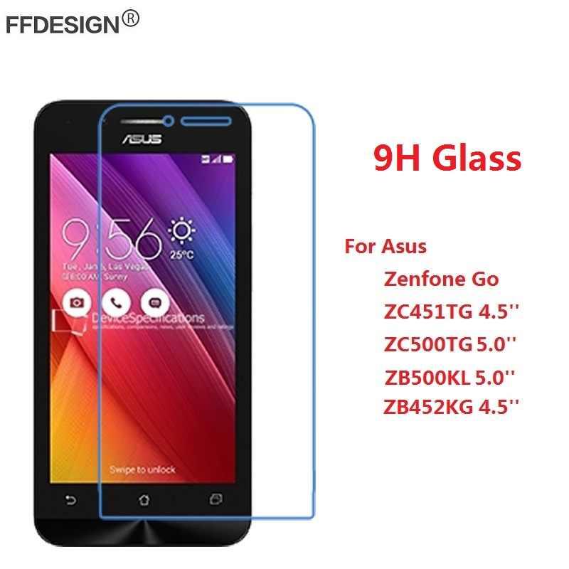 زجاج واقي لجهاز Asus Zenfone Go ZC451TG ZC500TG ZB500KL ZB452KG زجاج مقسى على Zenfone Go واقي للشاشة