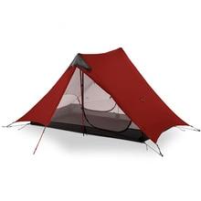 3F UL шестерни LanShan 2 Человек Палатка Сверхлегкий 3 сезон Открытый лагерь оборудование 2018 Новый черный/красный