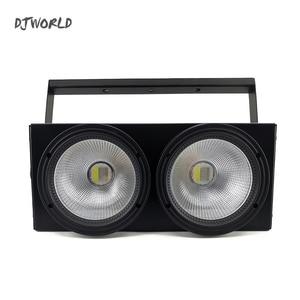 Image 4 - 2 مصابيح LED للسيارات على شكل عيون 200 واط COB مصباح موازي المستوى RGBWA + UV 6in1 DMX 512 الإضاءة لمقعد مسرح مسرح كبير المهنية