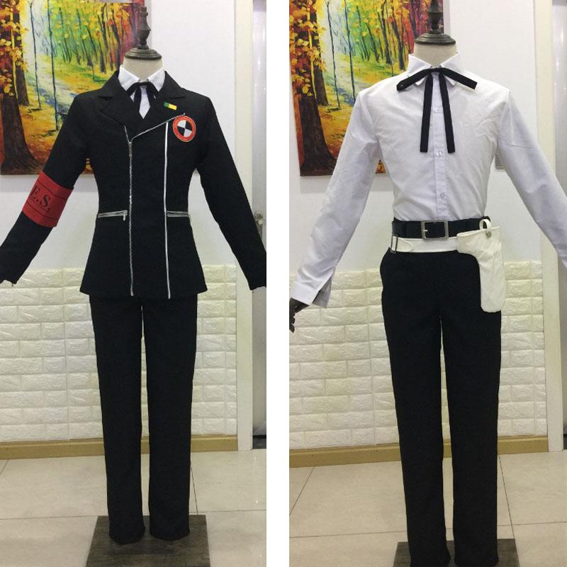 Anime Persona 3 Minato Arisato Cosplay School Uniform Outfit Costume Custom Made