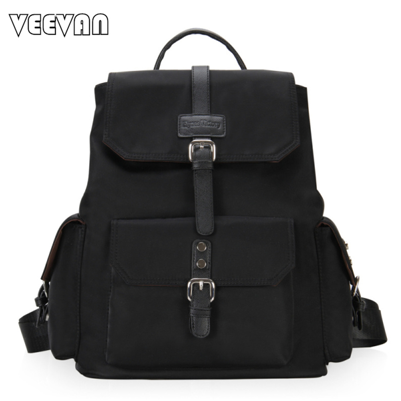 ФОТО 2017 VEEVANV Women Backpacks High Quality Waterproof Mochila School Backpacks for Girls Nylon Laptop Backpack Female Travel Bags